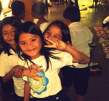 BES Girls Smiling