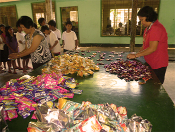 Snacks for BES, January 2014