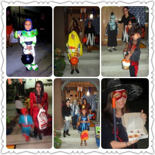 giftED SOLs with Trick-or-Treaters, Halloween 2014