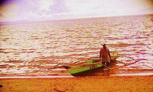 Boatman, San Rafael High School, Bicol, Philippines