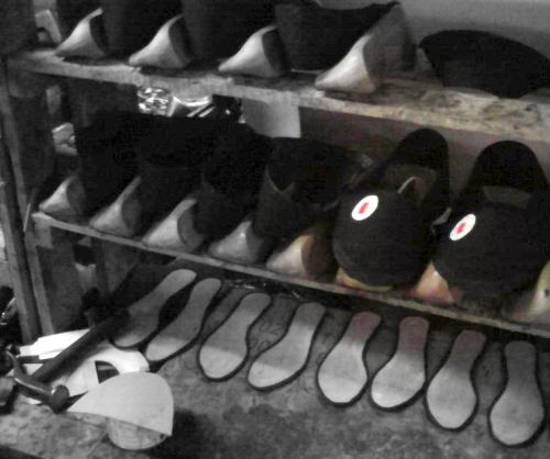 Shoe factory where giftED SOLes are made